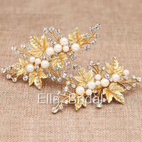 High Quality Pearl Crystal Headpiece Free Shipping Hot Sell ...