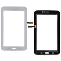 Сенсорный экран Digitizer стекло объектива с лентой для Samsung Galaxy Tab 3 7.0 T113 Tab 4 7.0 T116 бесплатный DHL