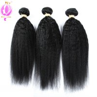 Brazilian Kinky Straight Human Hair 3Bundles Straight Virgin...