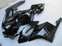 Injektionsgjutningssats för Honda CBR1000RR 04 05 Glänsande svarta Fairings Set CBR1000RR 2004 2005 OT03