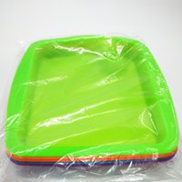 """2017 beliebte Große Silikon Deep Dish Container Tray 8 """"Silikon Bho Wachs Container 3 Teile / los"""
