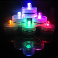 LED Waterdicht Duiklamp Verjaardag Party Bar Bruiloft Viering Waterdichte Elektronische Kaars Lamp Fabriek Outlet