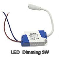 LED Dimming 3W Tensione di ingresso AC110V Tensione di uscita DC10V Corrente 280-300ma IP20 Trasformatore driver LED per pannello luminoso a LED 1 pz / pacchetto