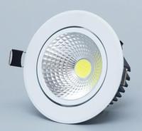 2018 new good Led luce di downlight COB Ceiling Spot Light 3w 5w 7w 12w 85-265V soffitto incasso Luci Illuminazione interna