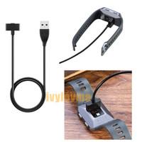 Fitbit İyonik Şarj için manyetik USB Şarj Data Şarj Kablosu usb kablosu (3 metre) Değiştirme Chip 1m 30cm