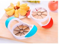 2017 Gadget da cucina Corer Slicer Easy Cutter Cut Fruit Knife Cutter per Apple Pear Spedizione gratuita