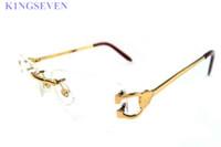 occhiali da sole di alta qualità per l'atteggiamento da donna rotonda cerchio di bufalo ovale corno di contenitore di vetro rosso bianco argento rosa Lunettes telaio oro