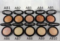Alta qualità! Nuovo arrivo faccia mineralizzare polveri per viso POUDRE POUDRE! 10G 10 colori (10 PC / lotto)