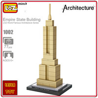 LOZ ideas Mini Blocks Empire State Building New York World F...