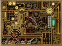 7x5FT Steam Punk Gauge Gear Pipe Personalizzato Photo Studio Sfondo Fondale Banner Vinyl 220cm x 150cm