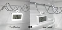 مع الصقيع إنذار الرقمية LCD ثلاجة برادات ميزان الحرارة المرسام الحراري للثلاجة