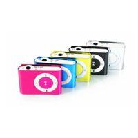 Mini Clip MP3 Player Barato Suporte Colorido mp3 Players com Fone de Ouvido, Cabo USB, Caixa de Varejo, Suporte Micro SD / TF Cartões atacado