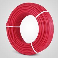 300 피트 Pex 배관 파이프 비 배리어 Pex 배관 Pex 파이프 물 배관 용 빨간색 복사열 난방 1 ROLL RADIANT PIPING Applications