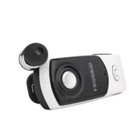 새로운 FineBlue F960 무선 드라이버 블루투스 이어폰 헤드셋 호출 진동 착용 클립 스포츠 전화를위한 헤드폰 실행