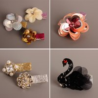 Everweekend Baby Girls Crystal Floral Cartoon Hair Clips Hai...