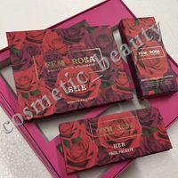 neue Colourpop Kosmetik X Karrueche Fem Rosa Ansammlung Installationssatz 12 Farbe Augenschatten 3 Farbe Textmarker 3 Farbe Matte Lippenstift Freies DHL