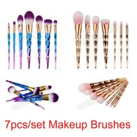 Good quality color optional Professional 7pc lot brush kit m...