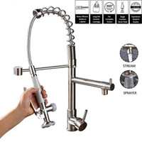 Kitchen Faucet Spring Kitchen Tap Faucets 360 Rotation Singl...
