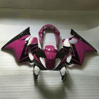 Spritzgießwerkzeug Günstige Verkleidung für Honda CBR600 F4 1999 2000 rosa schwarz weiß Motorradverkleidungen Teile 99 00 CBR600F4
