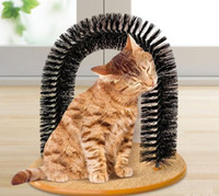new arrival pet Arch Pet Cat Self- Groomer and Massager With ...