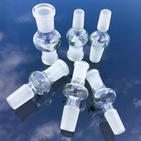 Qualitäts-Glas-Adapter 10mm 14mm 18mm Männlich Weiblich Joint gerades Rohr Drop Down Glass Adapers Raucherzubehör ADP01-10
