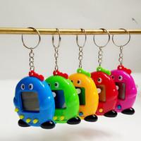 Venta caliente Mini plástico electrónico Pingüinos Digitaces Digitaces Divertidos juguetes Máquina de juegos de mano para regalo 5 colores
