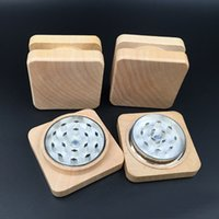 New Wood Grinder Square Herb Grinders Wood Herb Tobacco Grin...