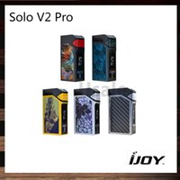 IJoy Solo V2 Mod. Pro 200W TC Mod. Mod. Firmware Upgradeable Mangas intercambiables Cool El mejor ELF Tank 100% Original