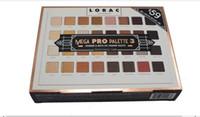 Édition limitée Cosmétiques Lorac Mega Pro 3 Palette Ombre à Paupières 32 Couleurs Palette Shimmer Mat Marques Ombre à Paupières Palette Maquillage