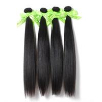 6A необработанные Королева волос Продукты 5 или смешать 5 шт. лот прямые перуанские Виргинские наращивание волос Оптовая натуральный цвет