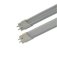High Bright 4ft T8 Led tubo luci sola estremità un ingresso di potenza lato condotto tubi 2 piedi 3 piedi 5 piedi SMD 2835 lampadine Led fluorescenti
