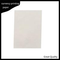 216 * 279mm printinng Papier 75% Baumwolle 25% Leinen passieren gefälschte Stift Testpapier hoher Qualität heißer Verkauf in den USA