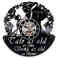 Красота и лучшие творческие виниловые настенные часы