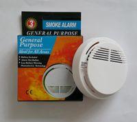 نظام لاسلكي كاشف الدخان مع بطارية 9V تعمل حساسية عالية مستقر إنذار الحريق مناسبة لكشف أمن الوطن
