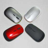 2017 ultradünne USB-optische Wireless-Maus 2.4GHz USB-Empfänger für Computer-PC-Laptop-Desktop 3500 Heißer Verkauf Mäuse 4 Farben