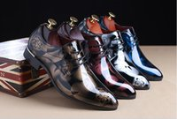 British Style Fashion Patent Leather Men Dress Shoes Pointed...