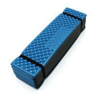 Atacado-Outdoor Camping Mat Ultralight Foam Piquenique Tapete Folding Egg Slot Tapete De Praia Tenda Dormir Pad Moistureproof Camping Colchão