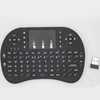 RII I8 Clavier de clavier à distance Contrôle de la souris à distance avec batterie au lithium pour T95M M8S MXQ Pro TV Box PC