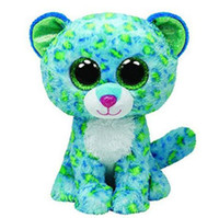 Original Ty Beanie Boos Big Eyes Plush Toy Doll Colorful Gre...