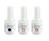 Harmony Gelish Nail Polish colors Soak off LED UV nail art g...