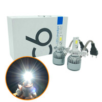 2PCS 72W 칩 H7 LED 자동차 헤드 라이트 H8 H9 H11 9006 9005 HB3 HB4 LED 헤드 램프 헤드 라이트 전구 DRL led 손전등 7600LM 자동차