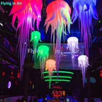 해파리와 빛 파티 장소 그리고 클럽의 천장 장식 매달려 2m / 3m LED 풍선 해파리 풍선 자이언트 화이트