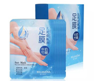 3packs=6pcs ROLANJONA feet mask Baby Foot Peeling Renewal Fo...
