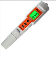 Freeshipping LCD Taşınabilir Su Geçirmez Dijital PH Metre 0.1 pH Kalem Tipi ATC 0 14.00 ph Sıcaklık Tester Akvaryum Havuz Içecek Su Ph Değeri Tester