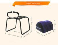 La más nueva silla del sexo de la manera + la almohada inflable apasionada relaciones sexuales coloca los muebles del sexo para la pareja, amante gordo Trampoli