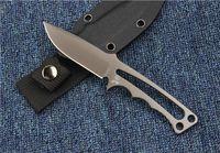 Chris Reeve Titânio Tático Faca Reta Soldado Tático S35VN Camping Caça Sobrevivência de Bolso Faca Kydex Bainha EDC Ferramentas Coleção