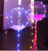 2017 Colorful LED light Helium balloons Christmas Multi colo...