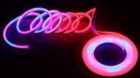 24v Динамическая погоня Цифровые светодиодные неоновые гибкие полосы света веревки 5050 пикселей RGB P943 пикселей с контроллером