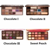 In stock! High quality makeup Sweet Peach Eyeshadow Chocolat...
