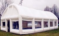 Barraca de quadro de casamento de casa inflável de 12m para casamento, evento e exposição